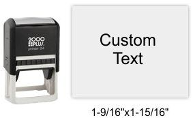 2000 Plus Printer P-54 Self Inking Stamp