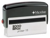 2000 Plus Printer P15 Self Inking Stamp