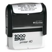 2000 Plus Printer P-40 Self Inking Stamp
