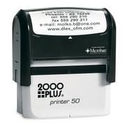2000 Plus Printer P-50 Self Inking Stamp