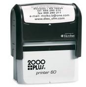 2000 Plus Printer P-60 Self Inking Stamp