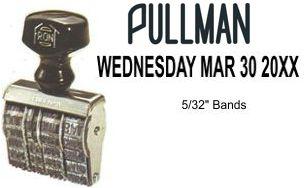 HOPD-1-1/2 Pullman Hotel Line Dater