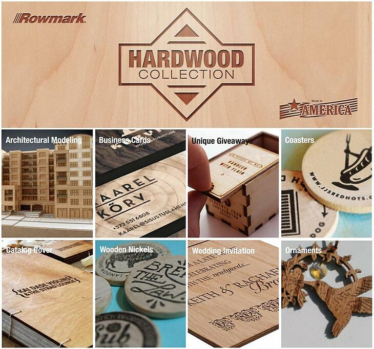 Wooden Name Tags or Badges Laser engraved Wood Badges Hard
