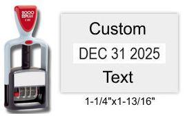 2000 Plus S-360 Self-Inking Dater S360 2000 Plus