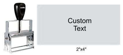 Justrite Plain Self-Inking 104-PL Stamp