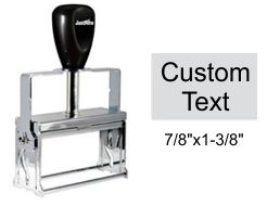 Justrite Plain Self-Inking 31-PL Stamp