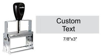 Justrite Plain Self-Inking 34-PL Stamp