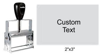 Justrite Plain Self-Inking 93-PL Stamp