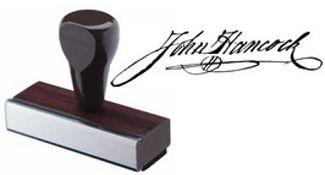 Signature Hand Stamp