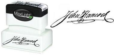 Signature Pre-Inked Stamp Pre-Inked Signature Stamp Signature Stamp