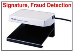 SL-2M Fraud Detection and Signautre Verification UV lamp