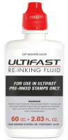 Ultifast Ink 2oz Bottle- RED