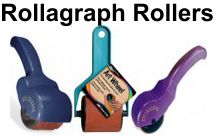 Rollagraph Handles, Standard Designs & Ink Cartridges