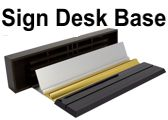 Nameplate & Sign Desk Bases